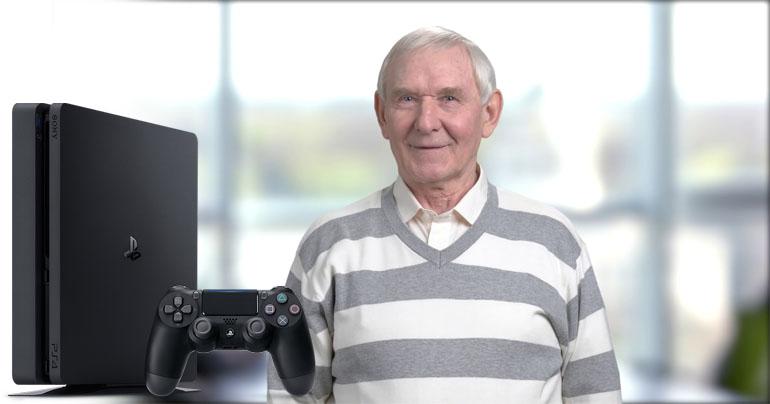 Gry na konsole dla seniora? Dlaczego nie